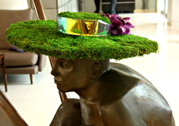 One Aldwych, London fashion Week milliner hats Mark Siredzuk Noel Stewart cocktail Pedro Paulo French 75 fashion 75 Olympic torch