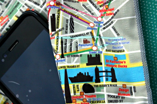 London silky map
