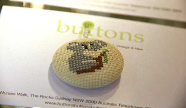 Buttons buttons buttons the rocks sydney vintage button
