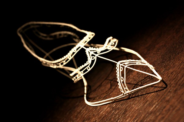 Wire Shoes By Cathy Miles