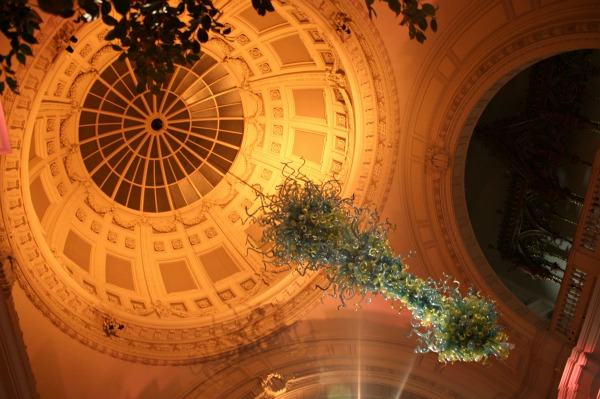 V&A, dome, London, Chihuly
