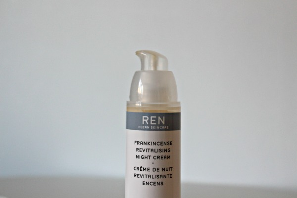 REN, beauty, night cream, frankincense, Frankincense revitalising night cream