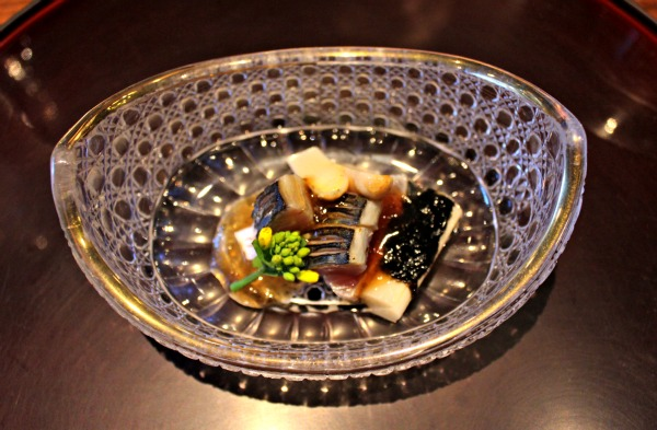 London restaurant - Umu, one Michelin star