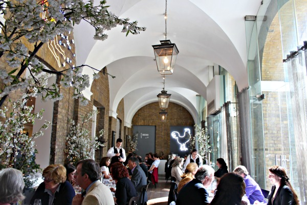 Saatchi - Afternoon Tea at the Mess Gallery