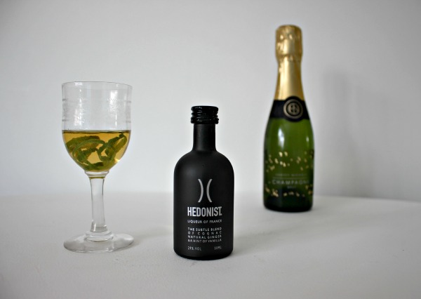 Happy Hour: Hedonist cognac and ginger liqueur
