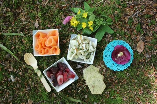 Picnic time with Marks & Spencer