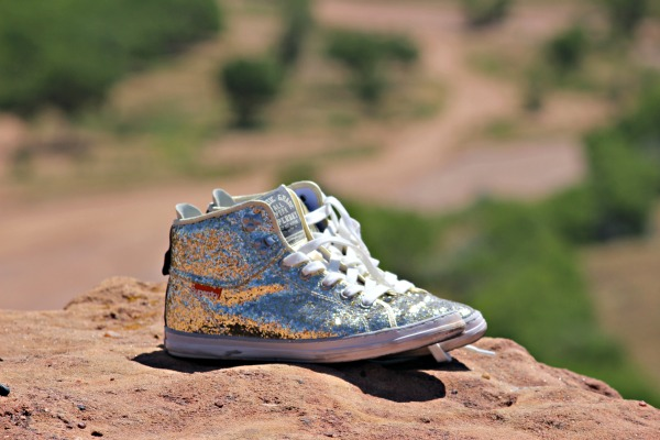 Superdry shoes: Just a little sparkle, all along the way