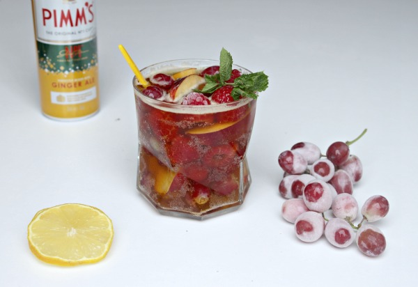 Happy Hour -  Pimm's pre mix cans (Ginger ale and diet lemonade)
