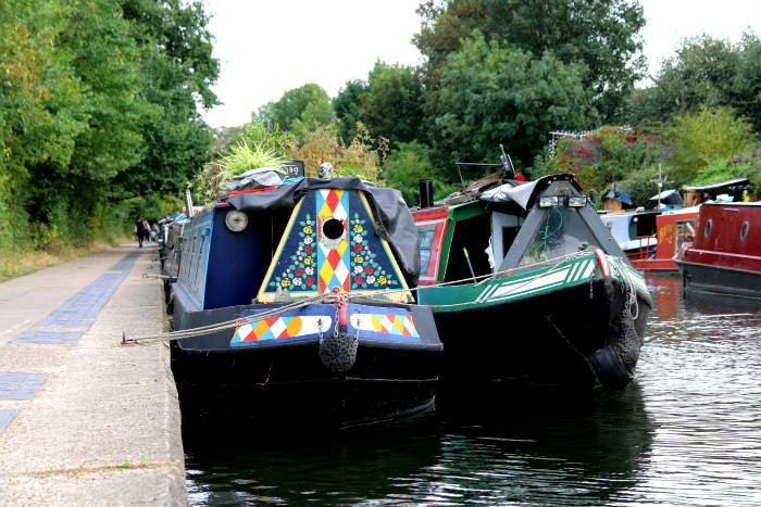 regents canal Bethnal Green London