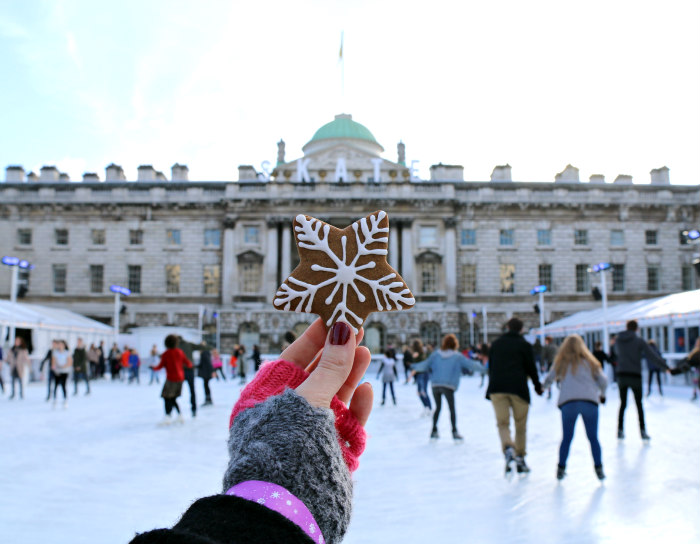 Skate at Somerset House Fortnum and Mason