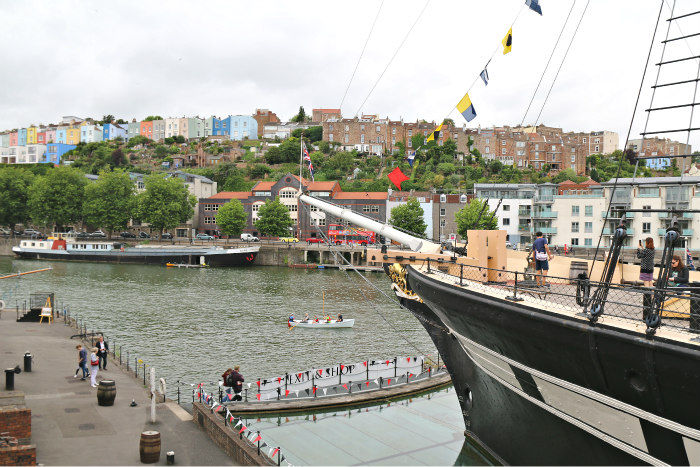 Bristol Brunel's SS Great Britain ship