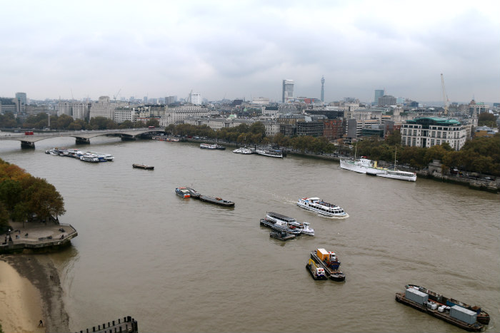 View from the top of the OXO Tower London Londres