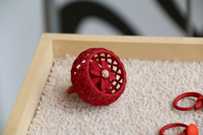 OXO Tower Wharf London Londres Electrobloom 3D printed jewels
