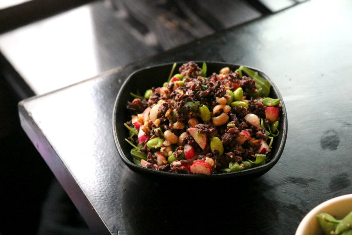 rice berry vege salad ping pong