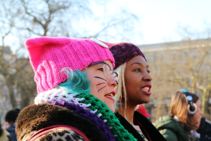 The Women's March in London