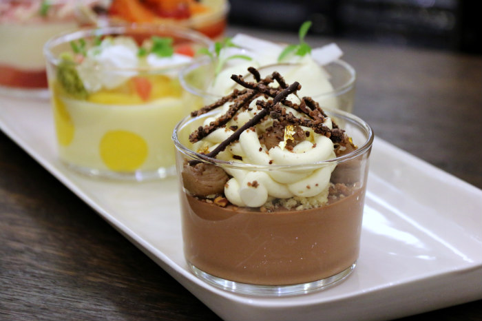 Fraise Sauvage Fine Desserts Exclusive To Harrods CHOCOLATE PECAN MOUSSE