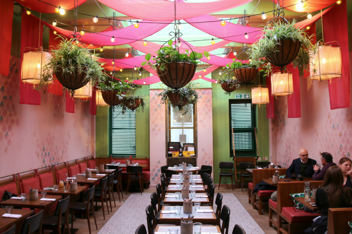 Cinnamon Bazaar Covent Garden Indian Restaurant London