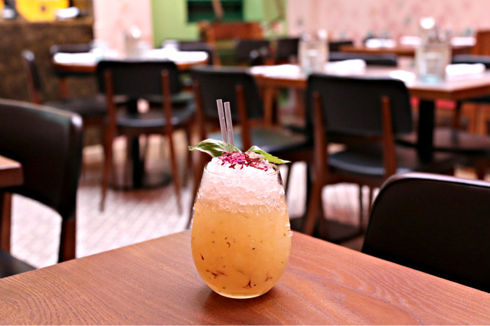 Cinnamon Bazaar Covent Garden Indian Restaurant London cocktails by Lyan Falooda Swizzle
