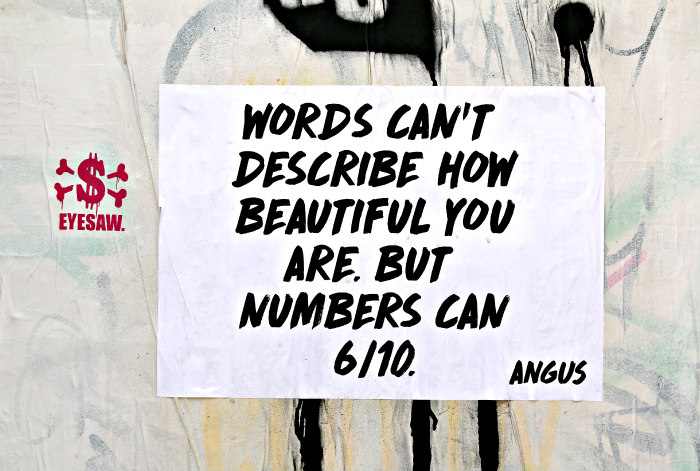 street art shoreditch london quote numbers