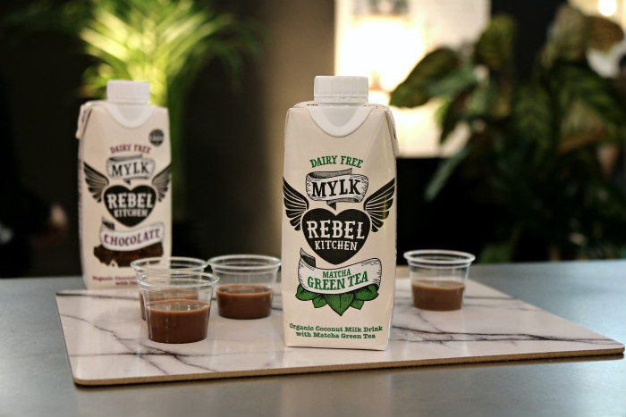 London Coffee Festival 2017 Rebel matcha chocolate