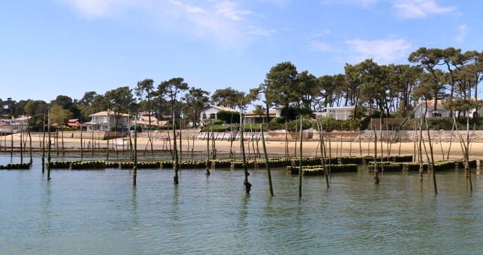 Le Bassin d'Arcachon from the water