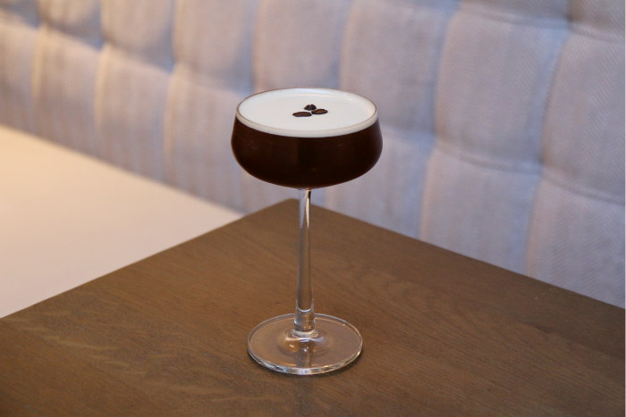 Portsmouth boutique hotel Florence Gardens The Florence Arms espresso martini