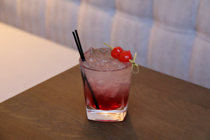 Portsmouth boutique hotel Florence Gardens The Florence Arms cocktail bramble
