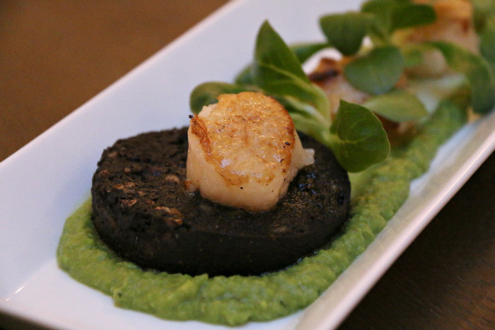 Portsmouth boutique hotel Florence Gardens The Florence Arms black pudding scallops