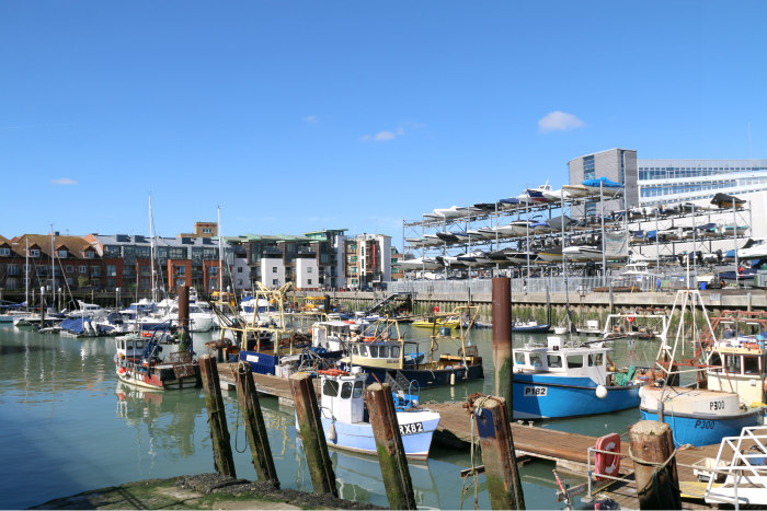 Portsmouth harbour port spice island 3