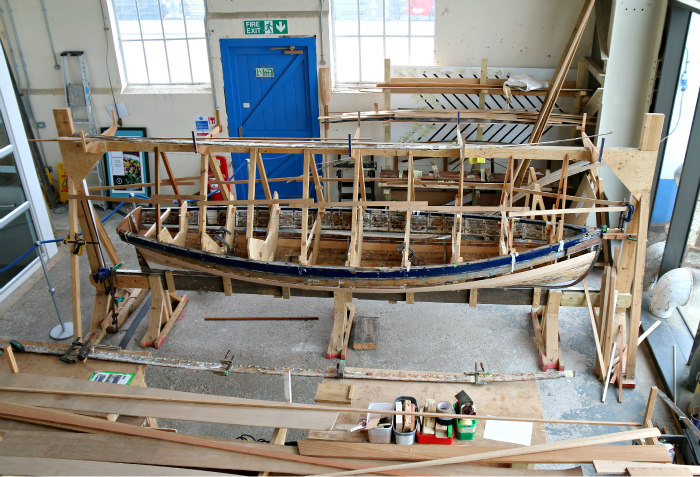 Portsmouth Historic dockyard Boatbuilding and Heritage Skills Centre 4