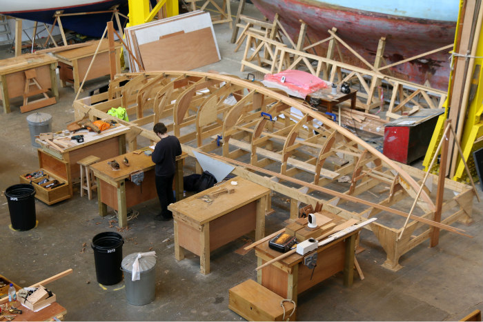 Portsmouth Historic dockyard Boatbuilding and Heritage Skills Centre 6