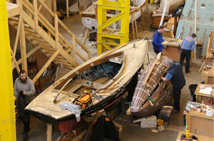 Portsmouth Historic dockyard Boatbuilding and Heritage Skills Centre 7