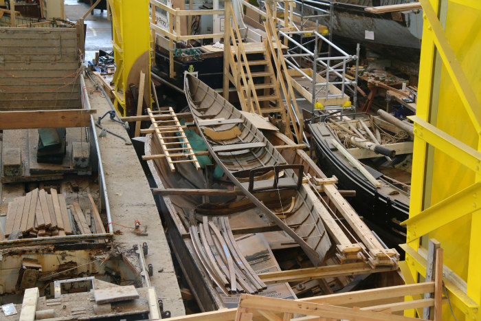 Portsmouth Historic dockyard Boatbuilding and Heritage Skills Centre 9