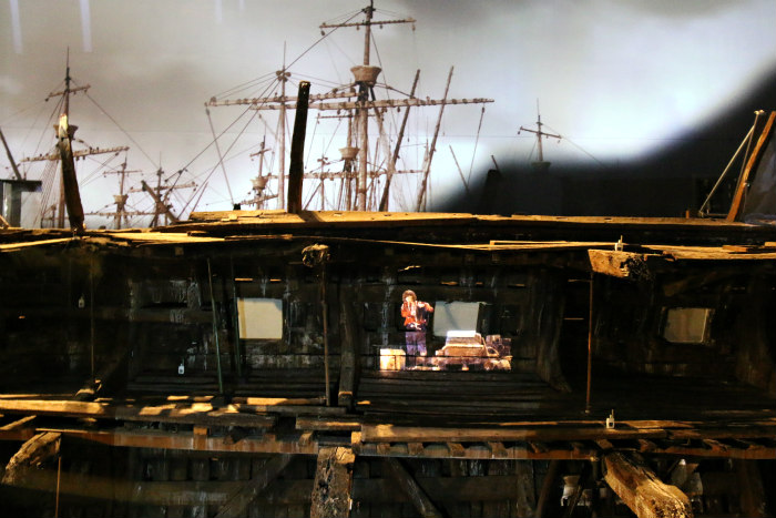 Portsmouth Historic dockyard the Mary rose