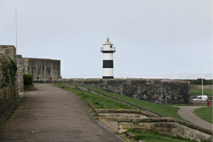 Southsea to Portsmouth seaside castle