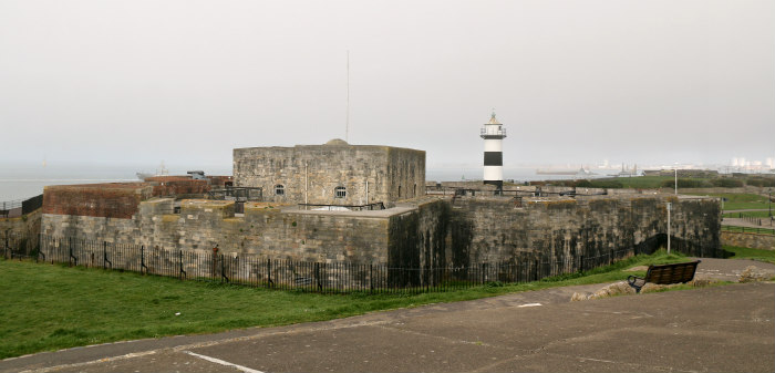 Southsea to Portsmouth seaside castle 2