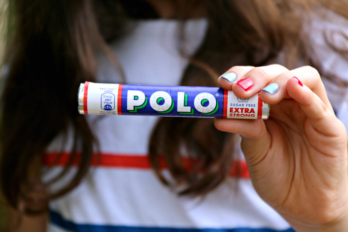 Polo the mint with the hole festival trend sugar free extra strong