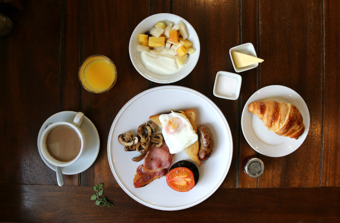 the white cliffs hotel breakfast kent