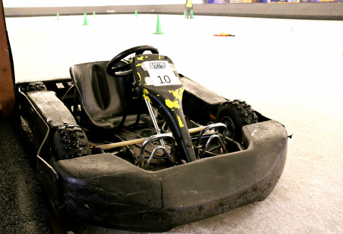 Ice karting at Queens (London) 2