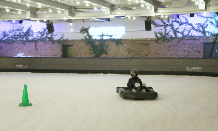 Ice karting at Queens (London) 3