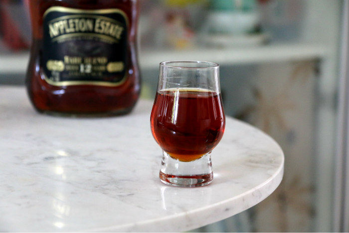 {The Rum Quest} Appleton Estate 12 Year Old Rare Blend glass