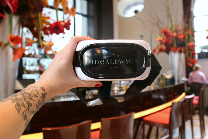 Showtime Cocktails at One Aldwych (London) - The Origin with a side of VR