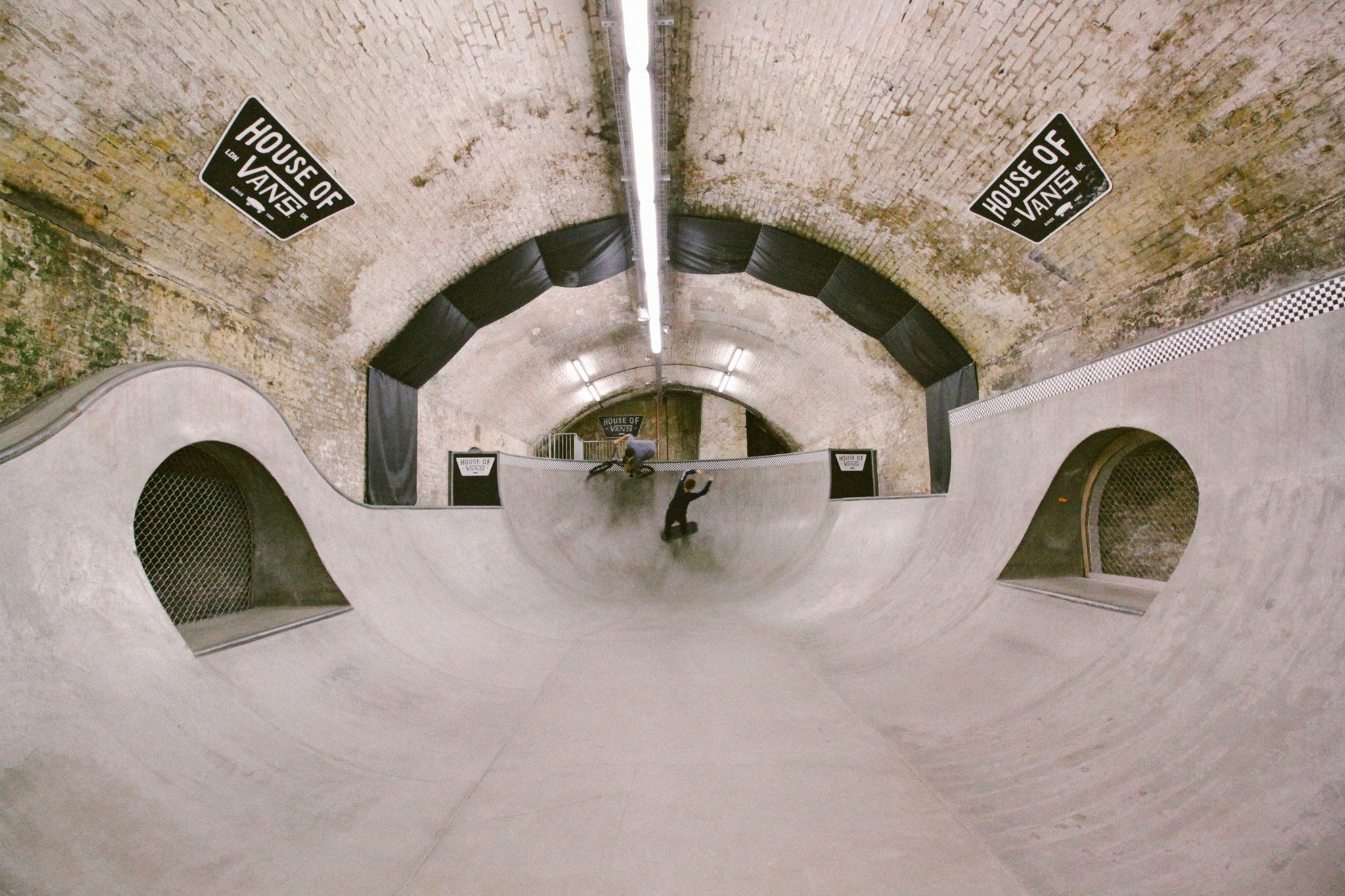 House of vans underground skate