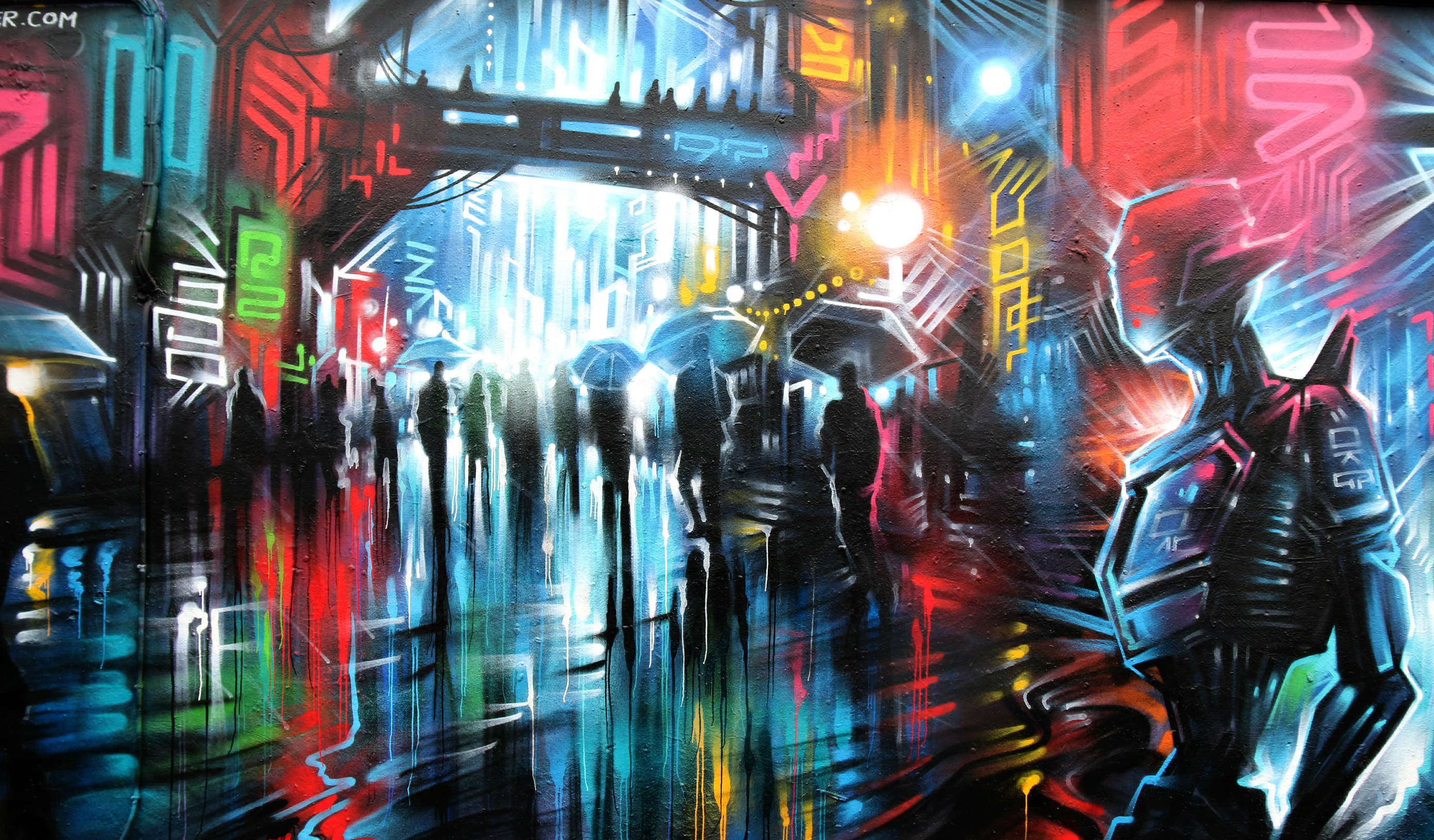 London Shoreditch street art Dan Kitchener