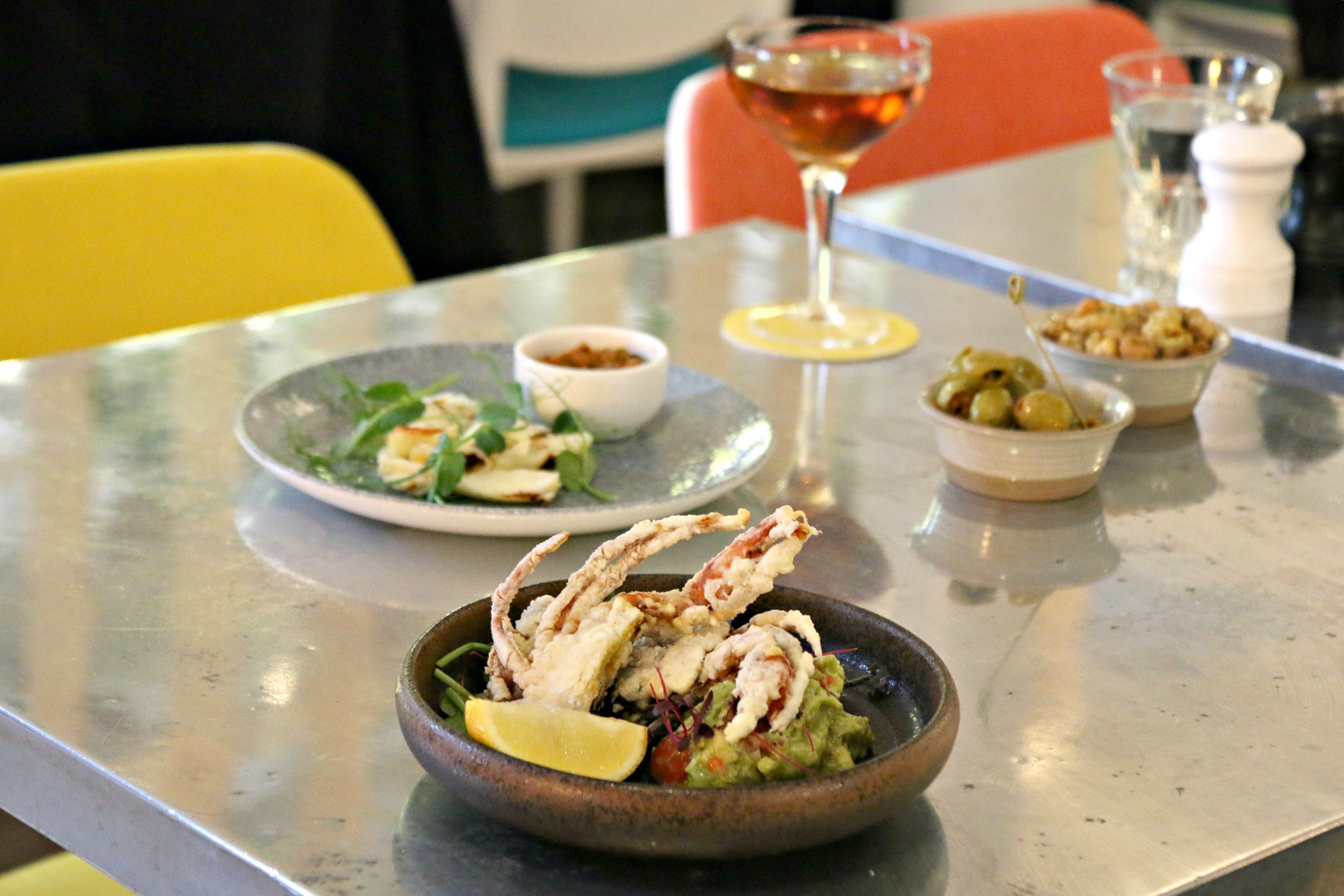 London Pomona restaurant Notting Hill soft shell crab guacamole