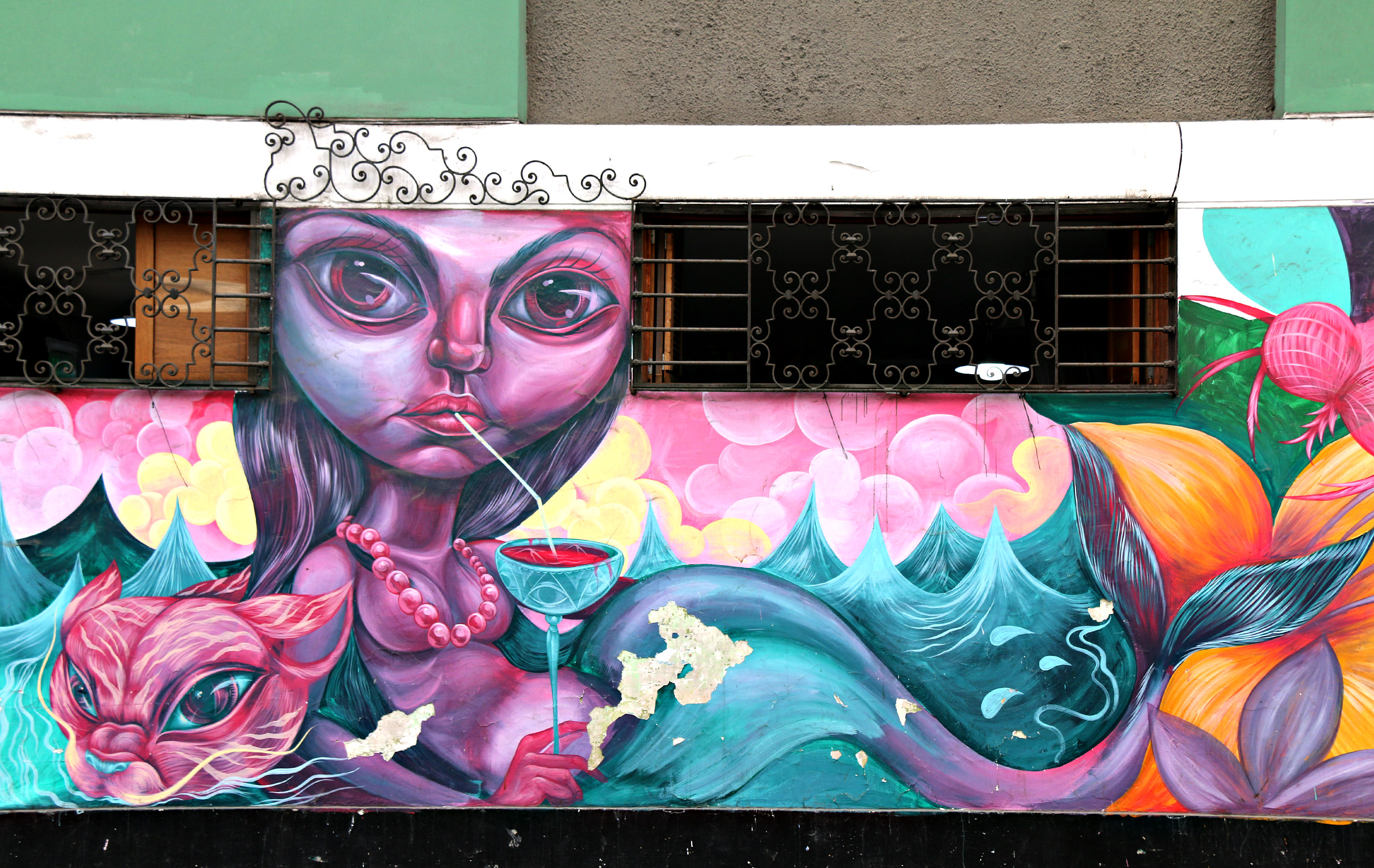 where to to find street art in Barranco, Lima on Corpancho