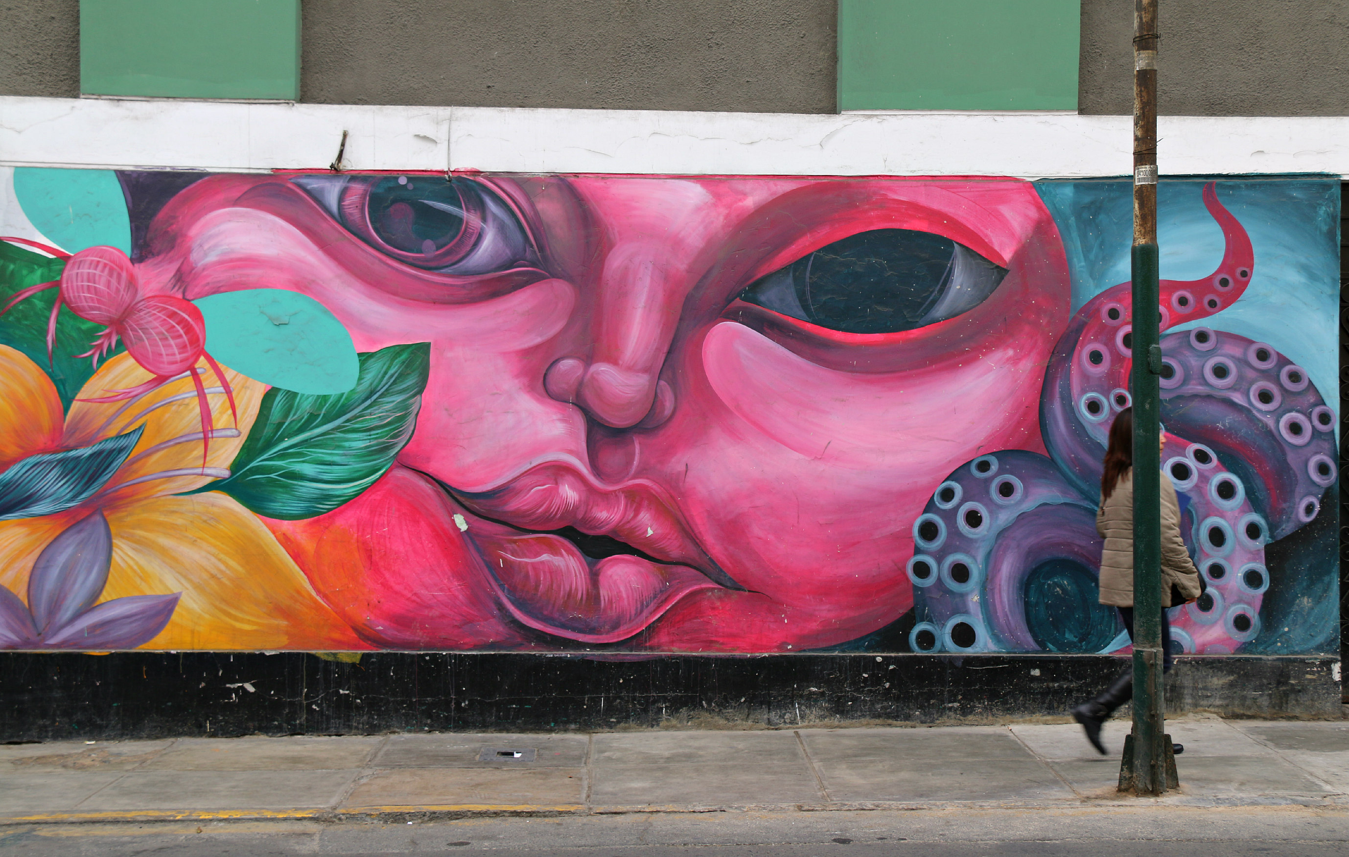 where to to find street art in Barranco, Lima on Corpancho 2