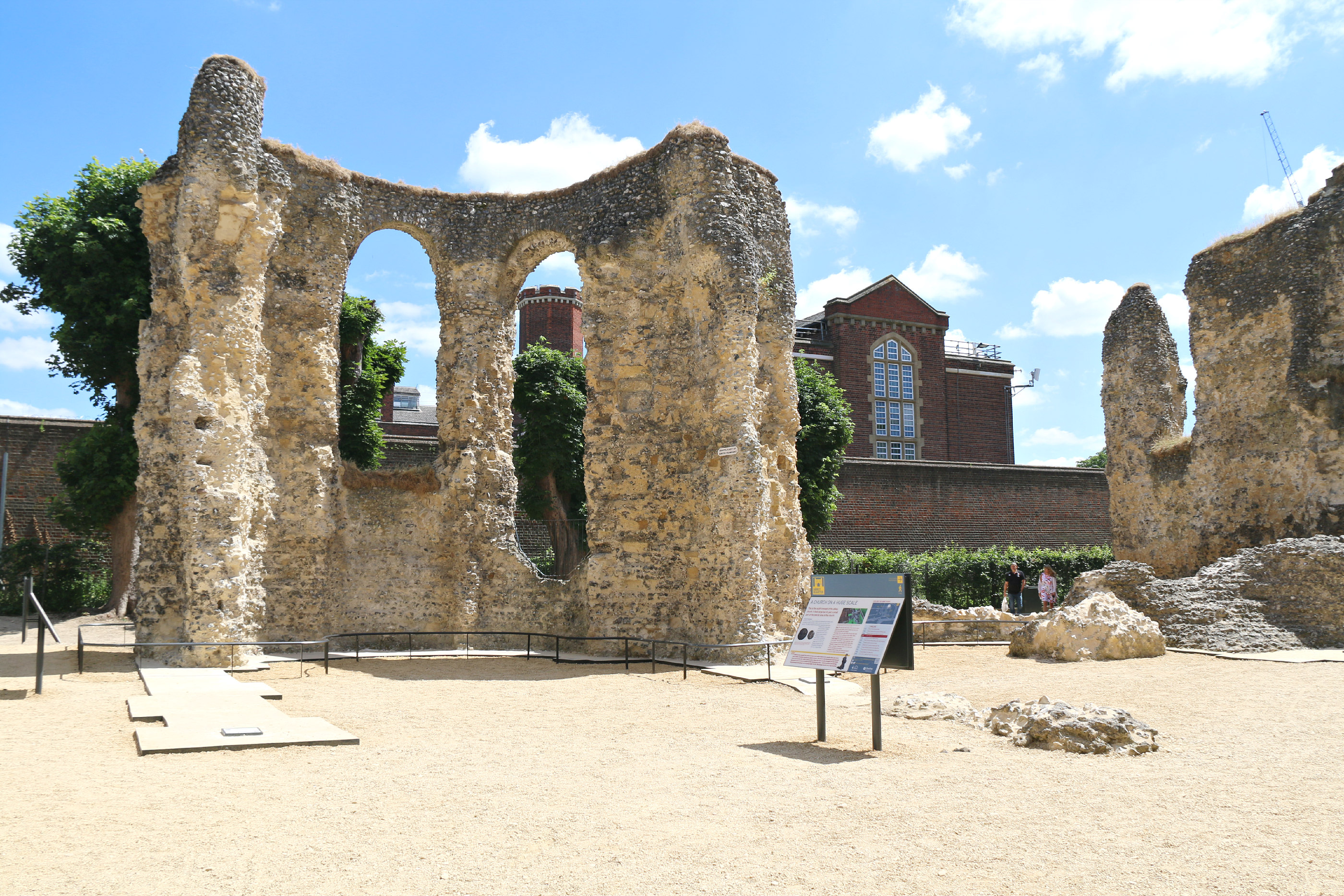 Reading - abbey ruins