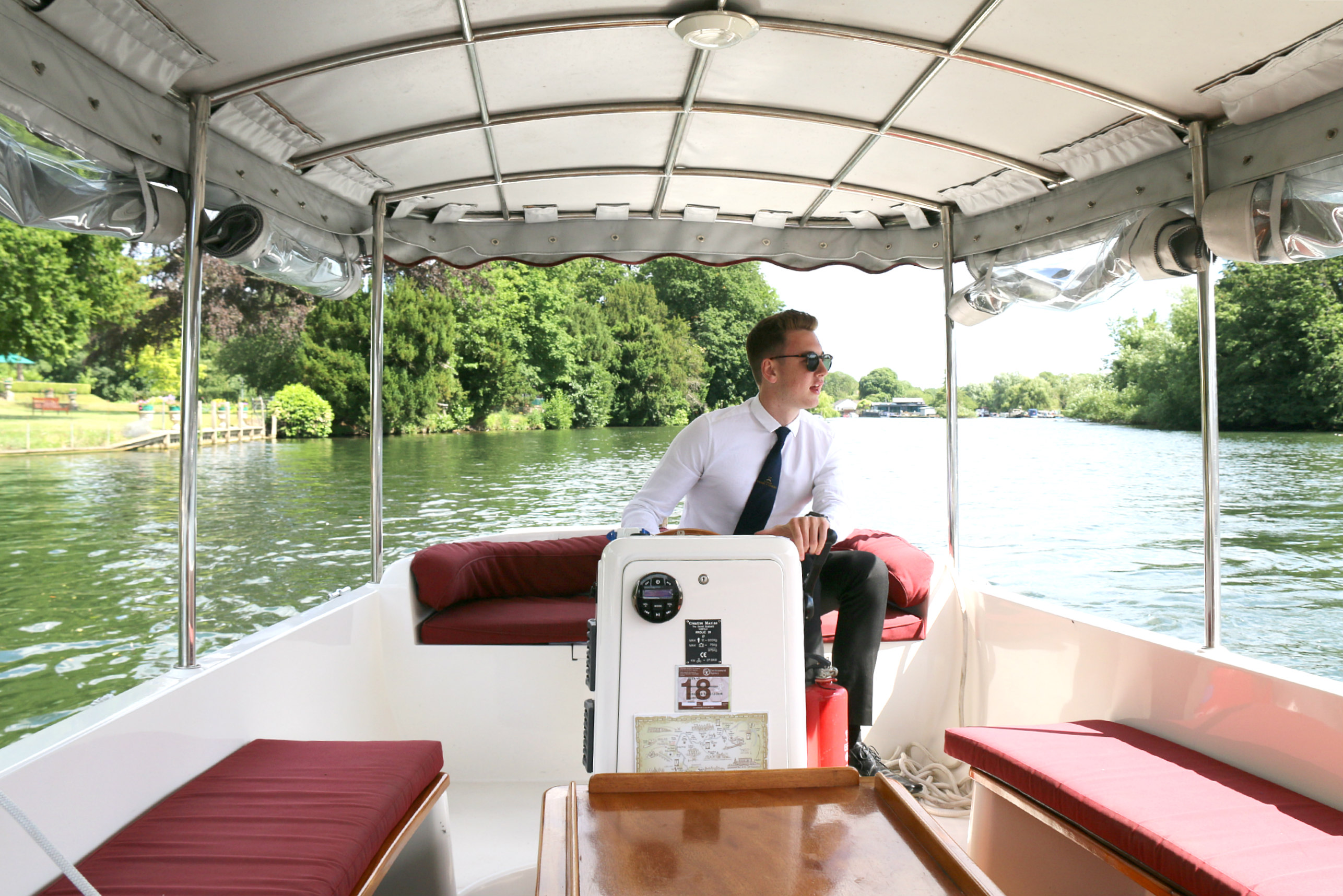 Hobbs of Henley boat tour