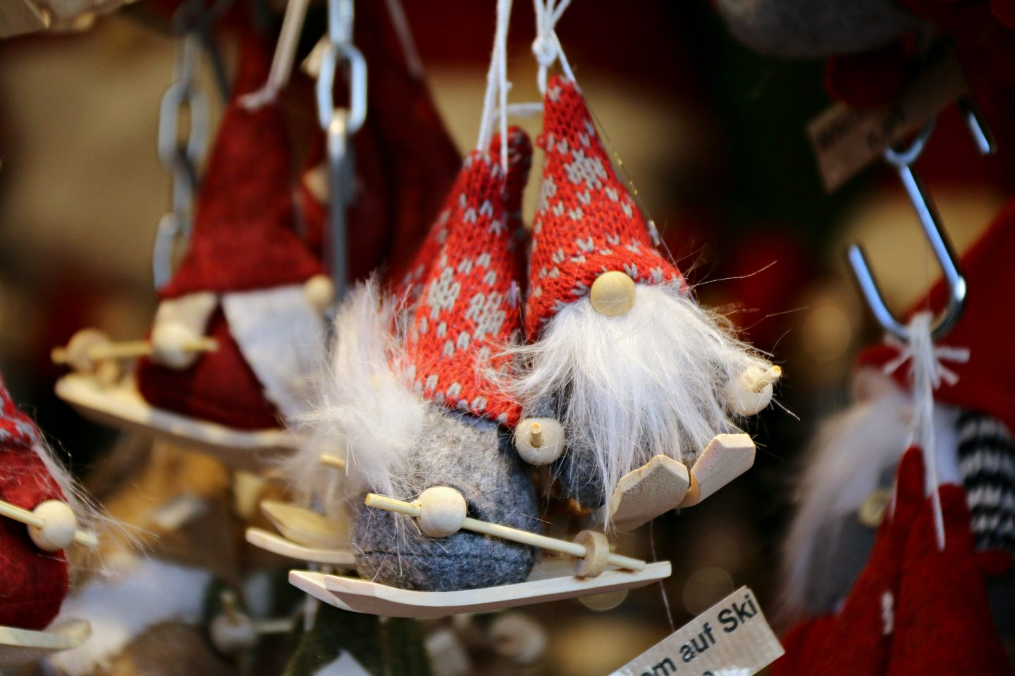 Vienna Christmas Market decoration gnome